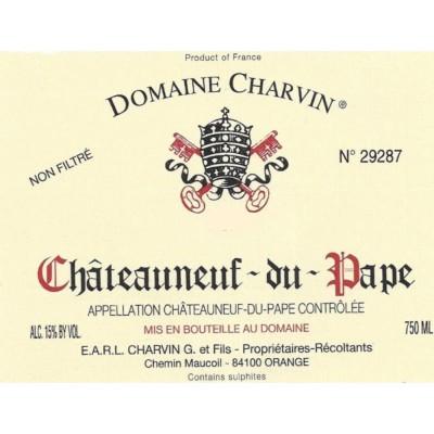 Domaine Charvin. Châteauneuf-du-Pape  80% garnacha, el resto syrah, monastrell, cariñena
