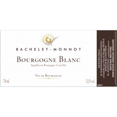 B-M. Bourgogne blanc 2018